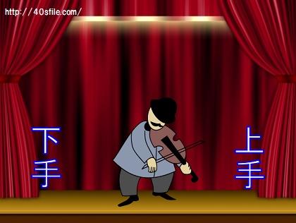 舞台の上手、下手はどっち?